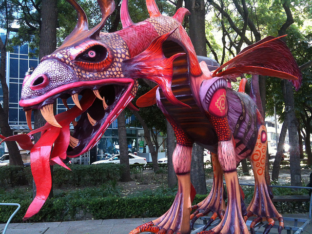 Alebrijes | Foto Marc Johnson (© BY-NC-ND 3.0 IT)