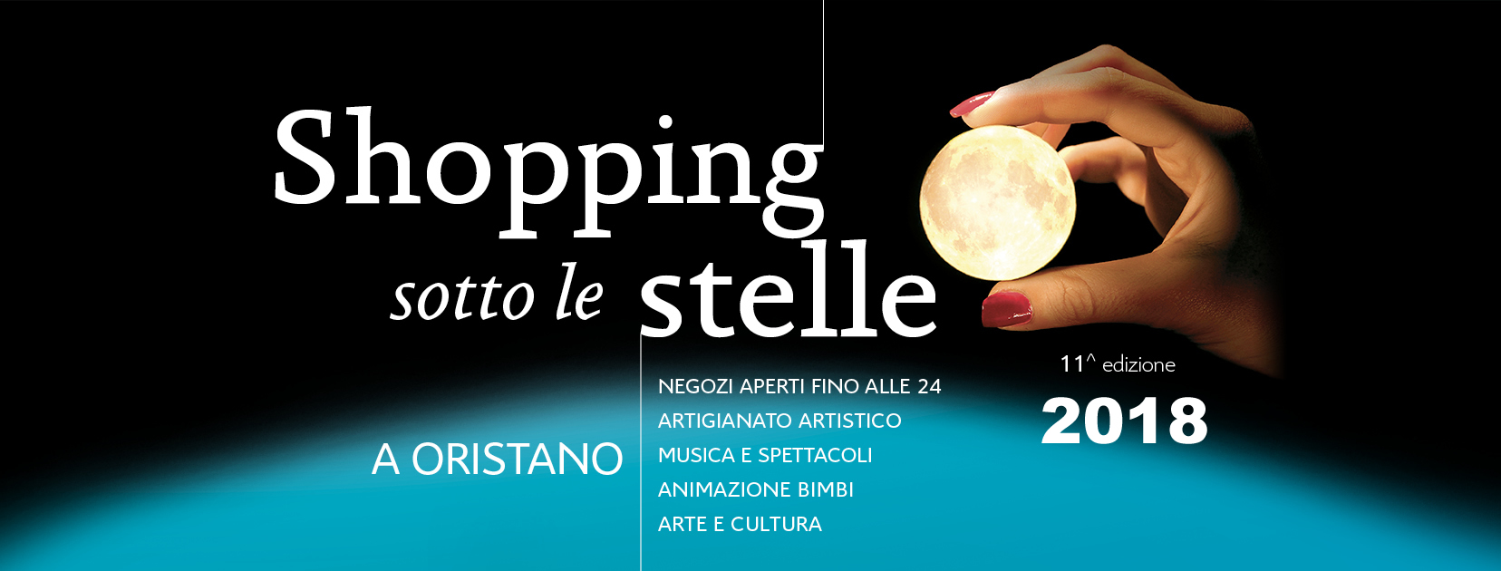 Shooping sotto le stelle 2018 Oristano