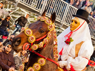 Diretta streaming in sardo Sartiglia 2015 | Foto Fabrizio Corda (CC BY-NC-ND 3.0 IT)