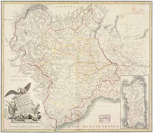 Cartina Del Regno Di Sardegna.La Sardegna Che Ha Bisogno Dei Savoia 1 Itenovas Com