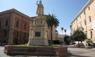 Architetture neoclassiche a Oristano