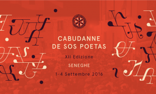 Cabudanne de Sos Poetas 2016 | Dal 1 al 4 settembre