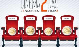 PROROGA DI 3 MESI - Cinema2Day: il cinema a 2 Euro anche in Sardegna