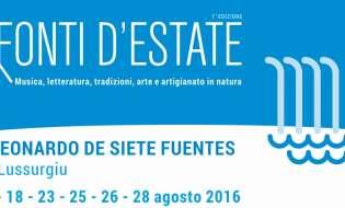 Fonti d'Estate 2016 | Dal 7 al 28 agosto