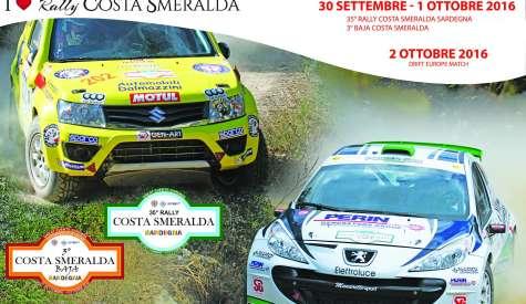 35° Rally Costa Smeralda 2016 | 30 settembre e 1 ottobre