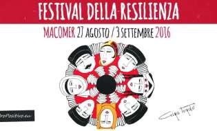 Festival della Resilienza 2016 | Dal 27 agosto al 3 settembre
