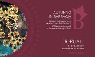 Autunno in Barbagia 2016 a Dorgali | Dal 16 al 18 settembre