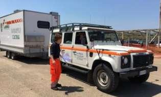 Emergenza terremoto: in Umbria la colonna di volontari sardi