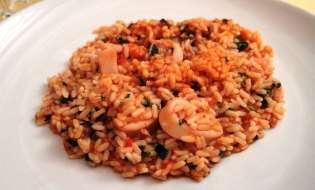 Cucina di Sardegna: Ricetta risotto coi calamari