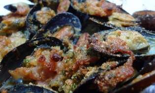 Cucina di Sardegna: Ricetta cozze ripiene