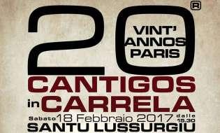 Cantigos in Carrela 2017 | 18 febbraio