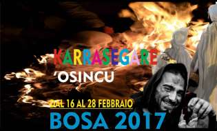 Carnevale 2017 a Bosa | Carrasegare Osincu | dal 16 al 28 febbraio