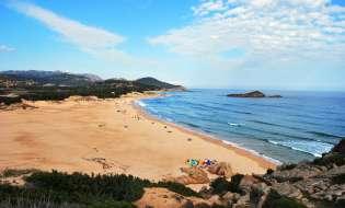 Spiagge di Sardegna: Spiaggia Su Giudeu