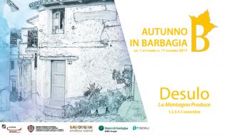 Autunno in Barbagia 2017 a Desulo   dal 1 al 5 novembre
