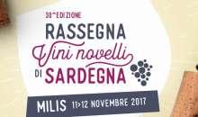 Rassegna dei Vini Novelli 2017   11 e 12 Novembre