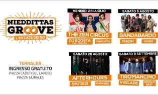 Nieddittas Groove 2017   Dal 28 luglio al 9 settembre