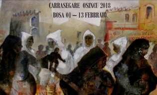 Carnevale 2018 a Bosa | Carrasegare Osincu | Dal 1 al 13 febbraio