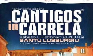 Cantigos in Carrela 2018 | 3 febbraio