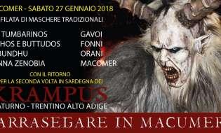Carnevale 2018 a Macomer | 27 gennaio
