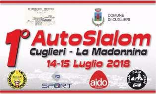 Slalom Cuglieri La Madonnina 2018 | 14 e 15 luglio