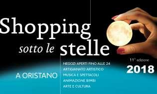 Shopping sotto le stelle 2018 a Oristano | Dal 10 luglio al 28 agosto