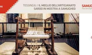 Tessingiu 2018 | Mostra dell'Artigianato Sardo | dal 14 luglio al 16 settembre