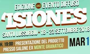 Isiones | dal 18 al 23 settembre