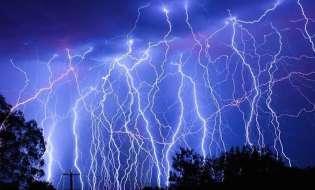 Record di fulmini sui cieli sardi: 5000 in un pomeriggio