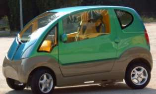 La prima auto ad aria compressa è sarda