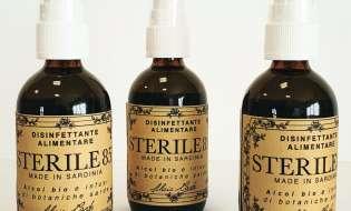 Dalla Sardegna il disinfettante che si può bere