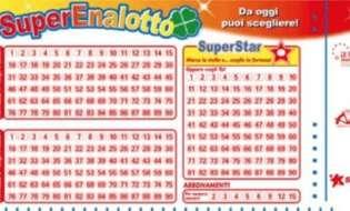 SuperEnalotto, clamoroso 6 da 59 milioni a Sassari
